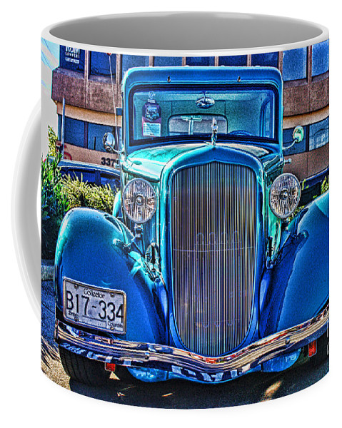 Cars Coffee Mug featuring the photograph Cool Front End Hdr by Randy Harris