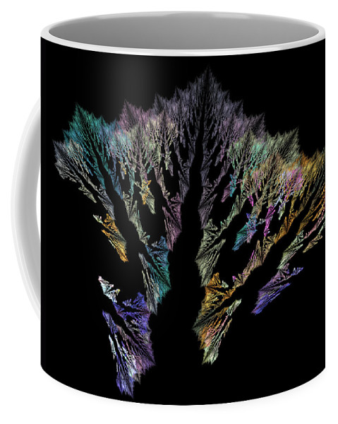 Coral Coffee Mug featuring the digital art Coral by Betsy Knapp