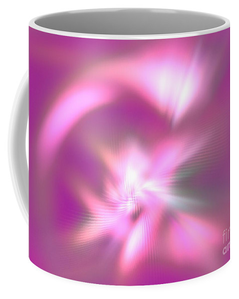 Apophysis Coffee Mug featuring the digital art Corona Borealis by Kim Sy Ok