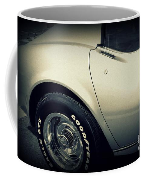 Corvette Coffee Mug featuring the photograph Corvette by Susanne Van Hulst