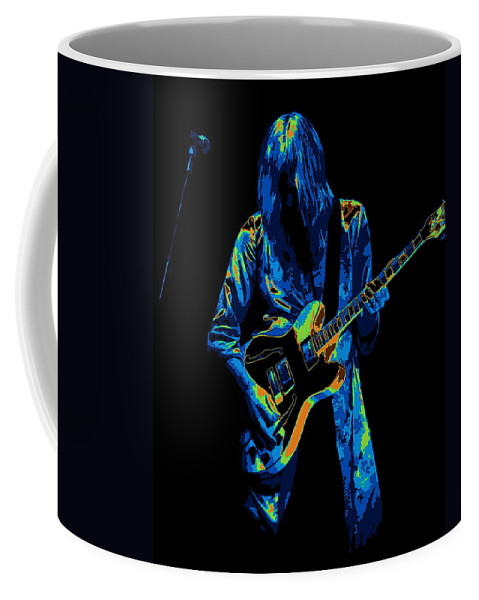 Rock Art Coffee Mug featuring the photograph Cosmic 2112 by Ben Upham