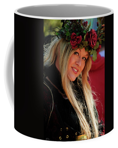 Nature Coffee Mug featuring the photograph Crowned By Nature by Diego Re