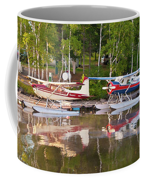 Greenville Coffee Mug featuring the photograph Curriers by Guy Whiteley