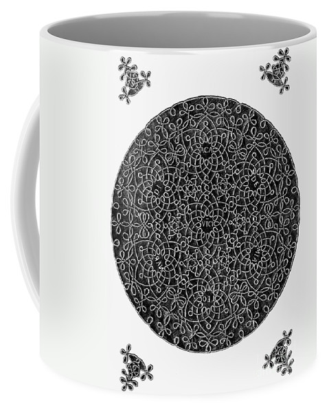 15th Century Coffee Mug featuring the photograph Da Vinci: Sixth Knot by Granger