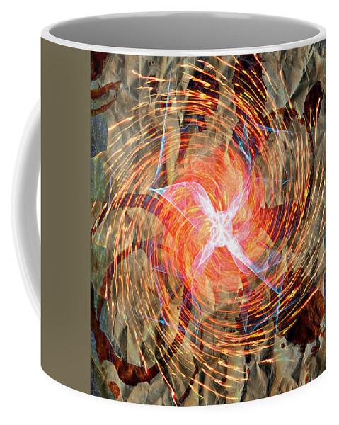 Popular Keywordsthe Keywords Coffee Mug featuring the photograph Dance Of Fires by The Artist Project