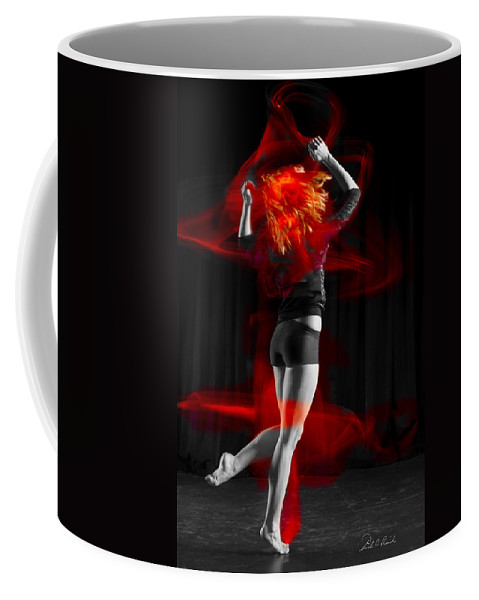 Photography Coffee Mug featuring the photograph Dancing With My Hair On Fire by Frederic A Reinecke