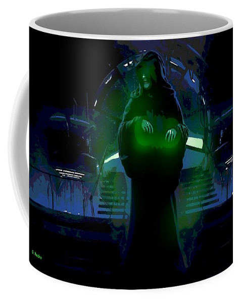 Good Side Coffee Mug featuring the photograph Dark Lord by George Pedro