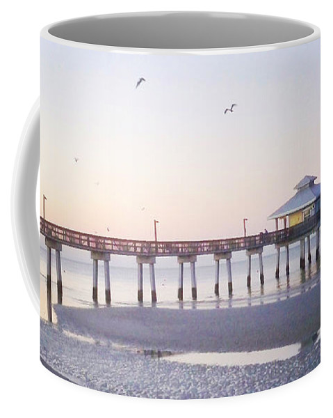 Florida Coffee Mug featuring the photograph Dawn Breaking Vanilla Pop by Chris Andruskiewicz