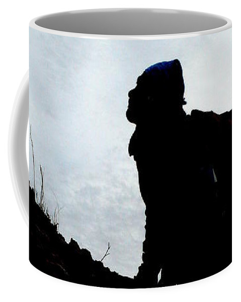 Day Trip Coffee Mug featuring the photograph Day Trippin' Hike by Mark Bell