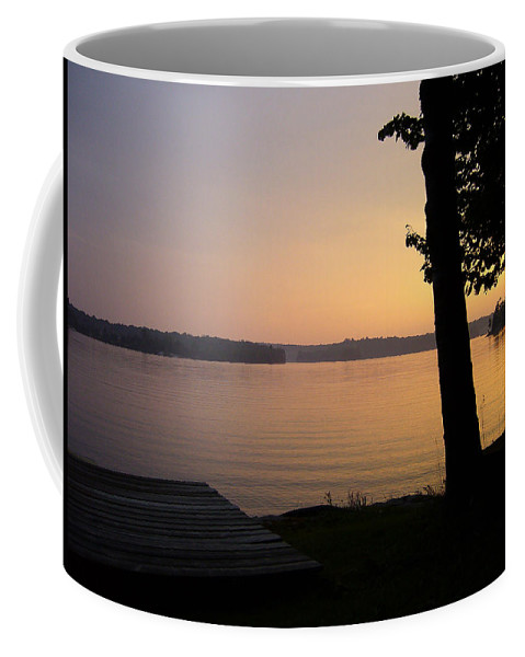 Sunset Coffee Mug featuring the photograph Day's End by Shirley Radebach