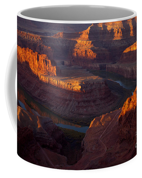 Deadhorse Point Coffee Mug featuring the photograph Deadhorse Reflections by Mike Dawson