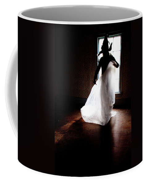 Halloween Coffee Mug featuring the photograph Deam Witch by Rebecca Akporiaye