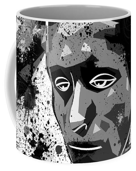 Despair Coffee Mug featuring the digital art Despair by Stephen Younts