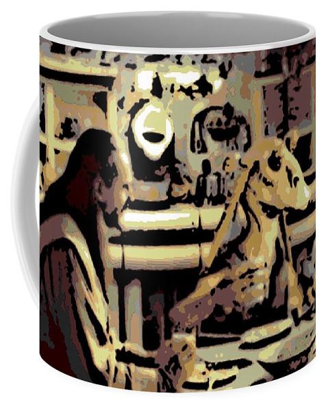Jar Jar Binks Coffee Mug featuring the photograph Dinner Time by George Pedro