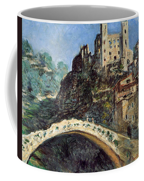 Dolceacqua Coffee Mug featuring the painting Dolceacqua by Claude Monet