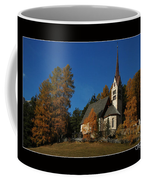 Landscape Coffee Mug featuring the photograph Dolomiti by Celiane Osimo