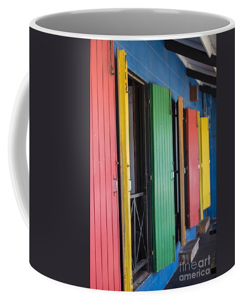 Bvi Coffee Mug featuring the photograph Doors Of Colors by Rene Triay Photography