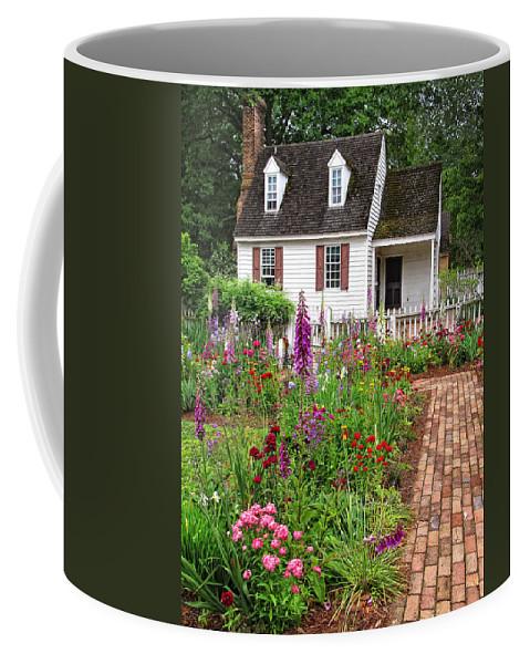 Garden Coffee Mug featuring the photograph Down A Garden Path by Dave Mills