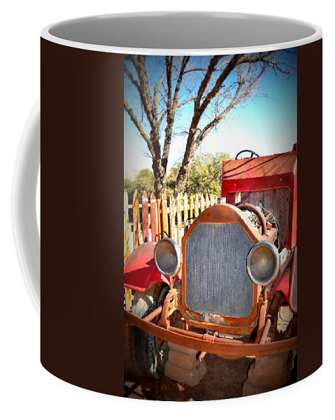 Old Fire Truck Coffee Mug featuring the photograph Dream Machine by Diane montana Jansson