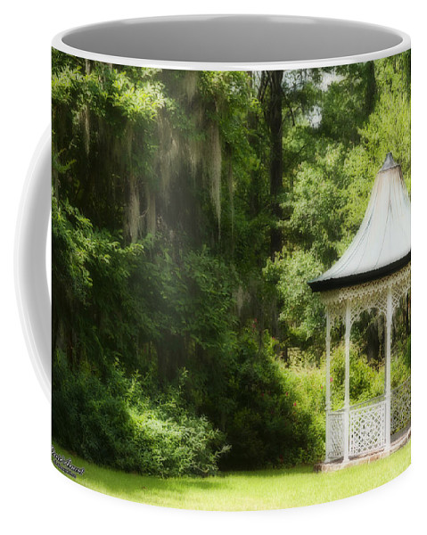 Gazebo Coffee Mug featuring the photograph Dreaming Of by David Arment