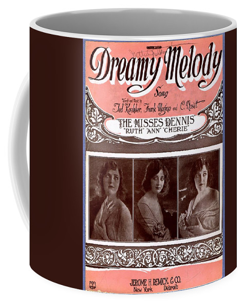 Classic Coffee Mug featuring the photograph Dreamy Melody by Mel Thompson