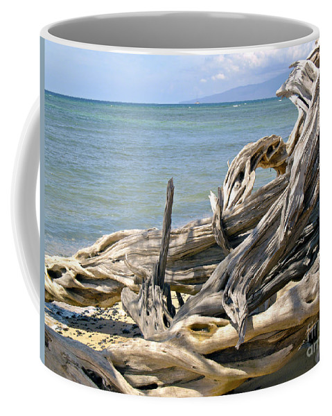 Driftwood Photography Coffee Mug featuring the photograph Driftwood II by Patricia Griffin Brett