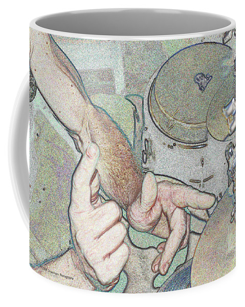 Drums Coffee Mug featuring the photograph Drums by Michael Merry