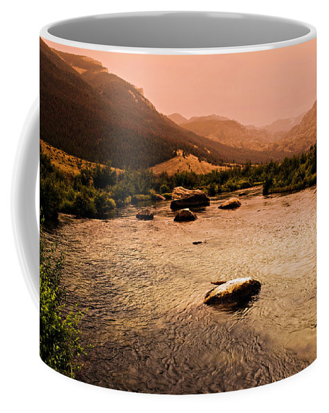 Sunset Coffee Mug featuring the photograph Dubois Sunset by Marty Koch