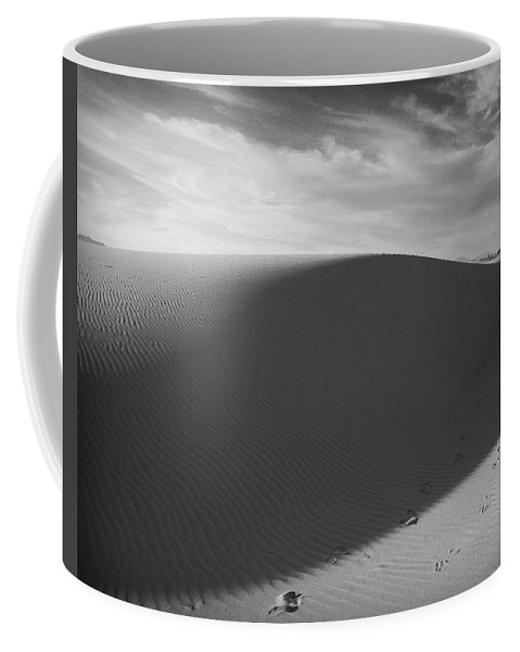 New Mexico Coffee Mug featuring the photograph Dunes 2 by Sean Wray