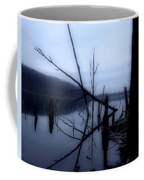 Dusk Coffee Mug featuring the photograph Dusk by Paul Ward