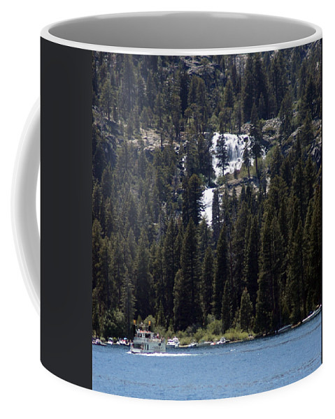 Usa Coffee Mug featuring the photograph Eagle Falls by LeeAnn McLaneGoetz McLaneGoetzStudioLLCcom