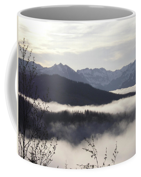 Fog Coffee Mug featuring the photograph Early Morning Fog by Catherine Helmick