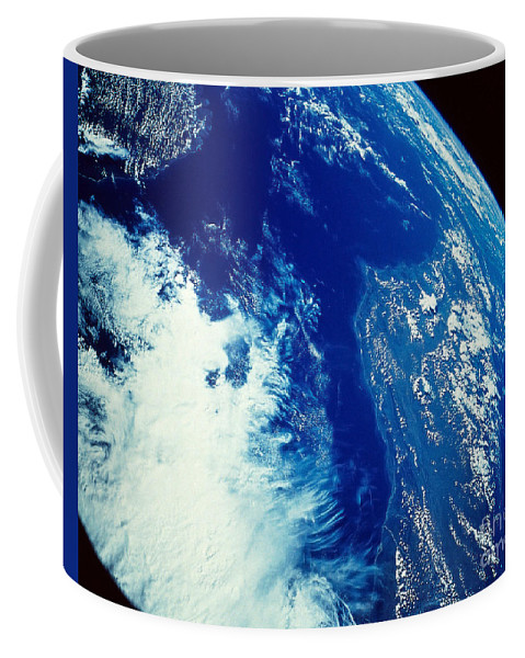 Horizontal Coffee Mug featuring the photograph Earth From Space by Stocktrek Images