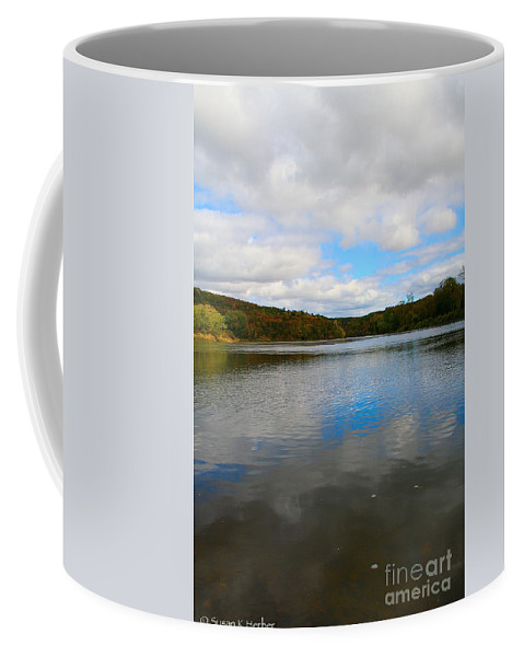 Landscape Coffee Mug featuring the photograph Earth Sky Water by Susan Herber
