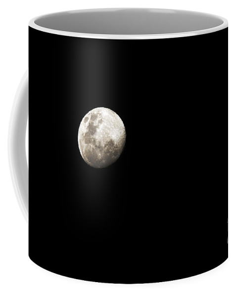 Sky Coffee Mug featuring the photograph Earths Moon And Jupiter Separated by Luis Argerich