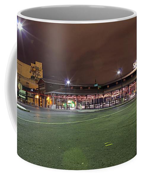 Coffee Mug featuring the photograph Eastern Market Detroit Mi by Nicholas Grunas
