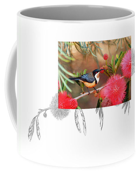 Eastern Spinebill Coffee Mug featuring the photograph Eastern Spinebill by Andrew McInnes