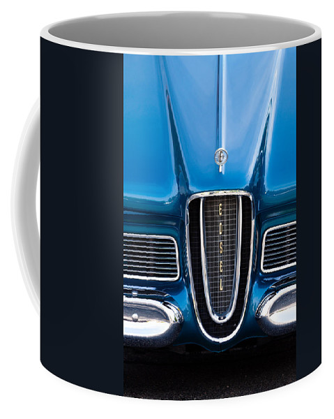 Edsel Coffee Mug featuring the photograph Edsel by Lauri Novak