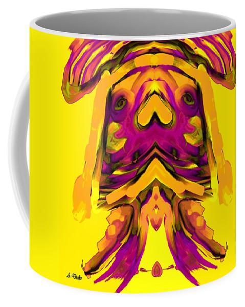 El Coffee Mug featuring the digital art El Nino by Alec Drake