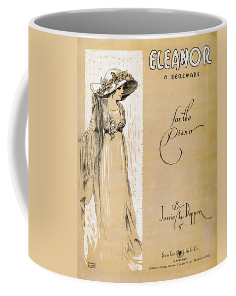 Classic Coffee Mug featuring the photograph Eleanor by Mel Thompson