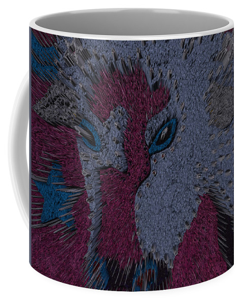 Cows Coffee Mug featuring the photograph Elvis The Moon Cow by Robert Margetts