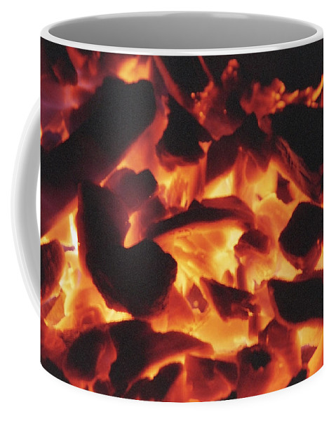 Fire Coffee Mug featuring the photograph Embers by Patrick Kessler