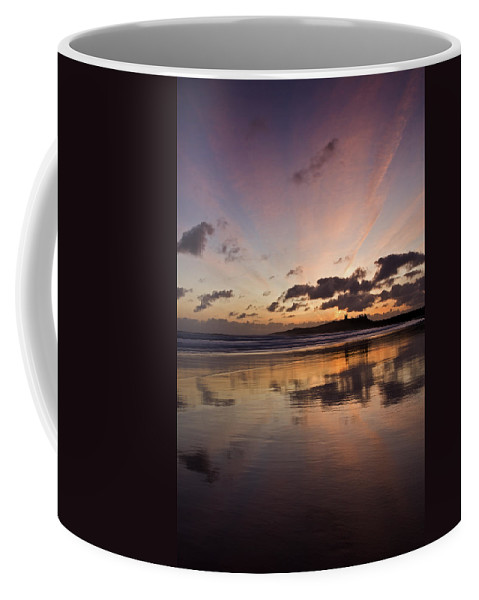 Embleton Coffee Mug featuring the photograph Embleton Bay Sunrise by David Pringle