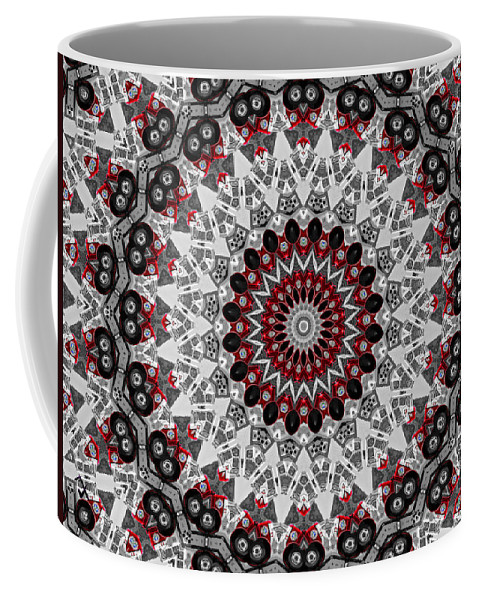 Kaleidoscope Coffee Mug featuring the photograph Emergency by Adam Vance
