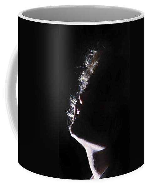 Emote Coffee Mug featuring the photograph Emote Number One by Skip Willits
