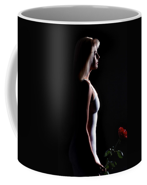 Emote Coffee Mug featuring the photograph Emote Number Two by Skip Willits