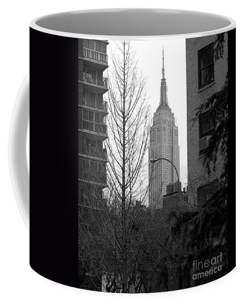 Empire State Building Coffee Mug featuring the photograph Empire State Building by Mark Gilman