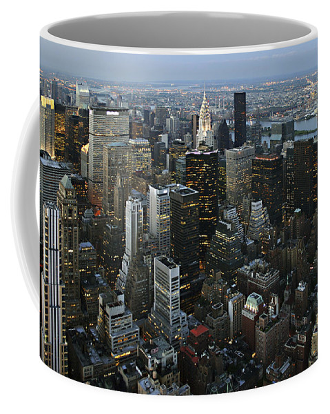 Empire's View Coffee Mug featuring the photograph Empire's View by Wes and Dotty Weber