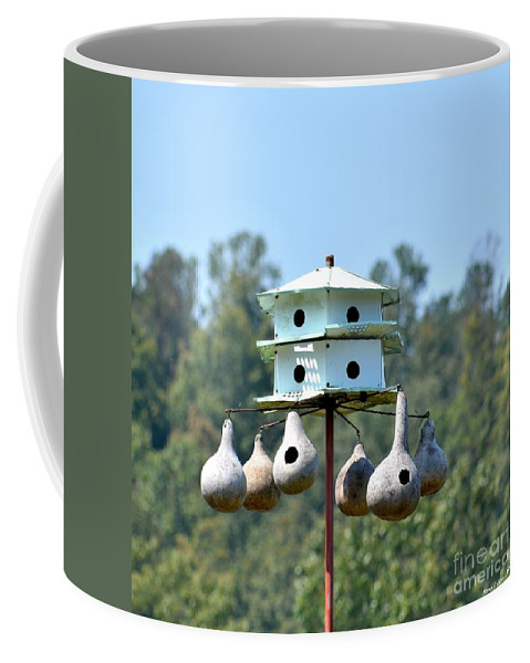 Empty Nests Coffee Mug featuring the photograph Empty Nests by Maria Urso