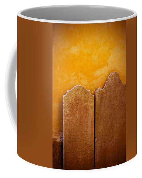 Cemetery Coffee Mug featuring the photograph End Of The Road by Jean Haynes